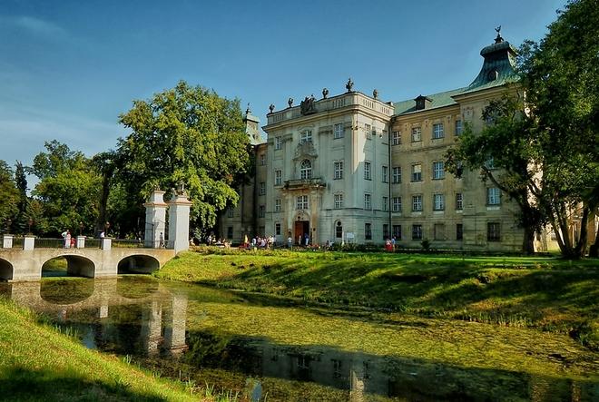 Perełka baroku - zamek w Rydzynie ***