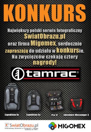Innowacyjny konkurs firmy TAMRAC oraz serwisu SwiatObrazu.pl został rozstrzygnięty!