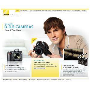 Filmowa strona Nikona - nikondmovie.com