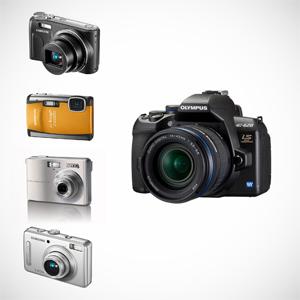 Top 5 - najpopularniejsze aparaty cyfrowe według Komputronik SA