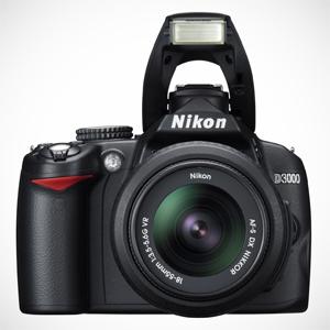 Nowy Nikon D3000 - stworzony z myślą o ropoczynających przygodę z fotografią