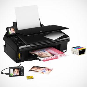 Domowy wydruk fotografii - Epson Stylus SX410