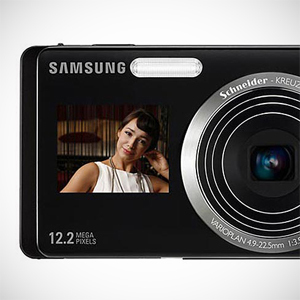 Cztery ekrany  - dwa aparaty. Samsung ST500 i ST550