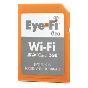 Eye-Fi zmienia się w iFi? Eye-Fi Geo