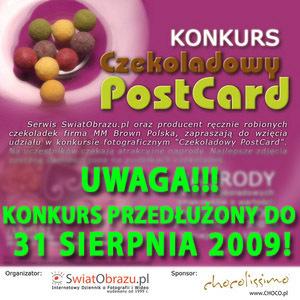 """Konkurs fotograficzny """"Czekoladowy PostCard"""" - przedłużony do końca wakacji!"""