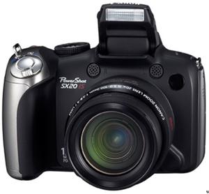 Więcej nowości od Canona - PowerShot SX20 IS i SX120 IS