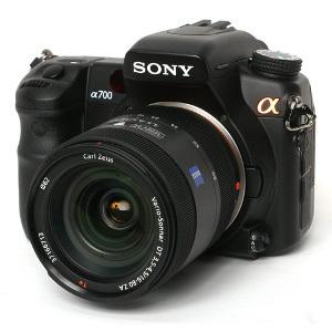 Pożegnanie z Sony Alphą A700