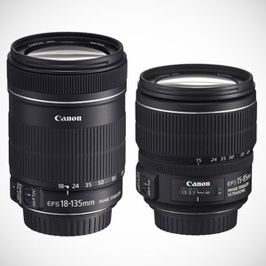 Dwa nowe zoomy od Canona - EF-S 15-85mm f/3.5-5.6 IS USM i EF-S 18-135 mm f/3,5-5,6 IS