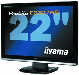 Nowy monitor Iiyama E2207WS-2 z wysokim kontrastem