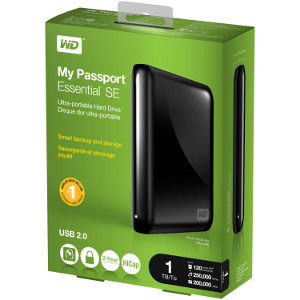 Kieszonkowe dyski przenośne od Western Digital - My Passport Essential, My Passport Essential SE i My Passport for Mac