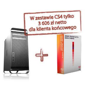 Promocyjny zestaw Mac Pro plus Adobe CS4 Design Standard dostępny w iSource