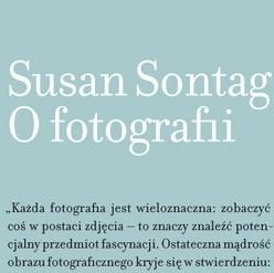 Oficjalna premiera książki Susan Sontag 19 października w Krakowie