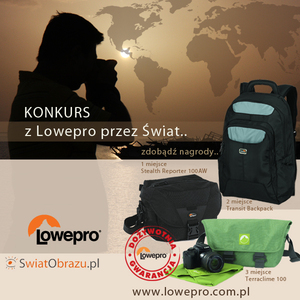 Z Lowepro przez świat - konkurs fotograficzny
