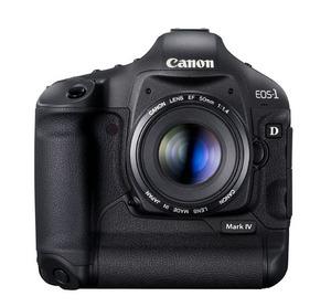Canon EOS-1D Mark IV - wysokie ISO i 16 megapikseli w profesjonalnym korpusie Canona