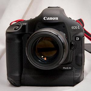 Canon 1D Mark IV - pierwsze spojrzenie
