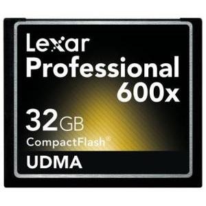 Lexar Professional 600x - karta CF z prędkością zapisu 90MB/s