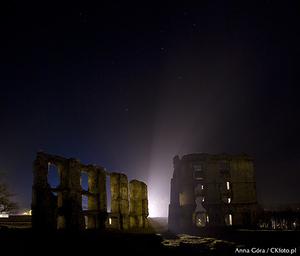 Jak oświetlić zamek - zdjęcia wieczorne i nocne w zamku Krzyżtopór i zamku w Bodzentynie