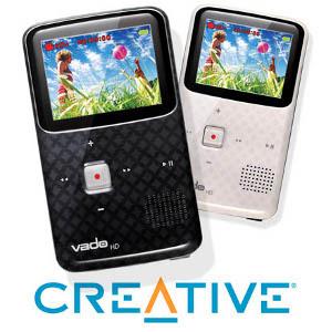 Trzecia generacja kieszonkowej kamery Creative Vado HD