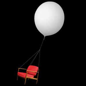 Krzesło w kosmosie - nietypowa promocja telewizora Toshiba Regza SV