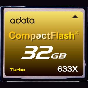 Najszybsze karty CF od A-DATA: 633X Turbo
