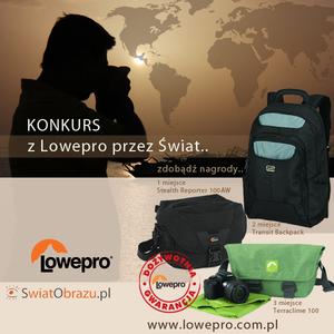 Konkurs fotograficzny z Lowepro przez świat - rozstrzygnięty