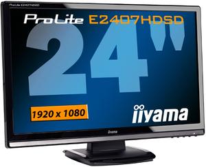 24 cale i Full HD w promocyjnej cenie - monitor iiyama E2407HDSD