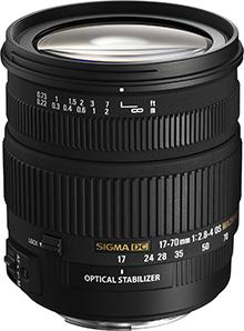 Nowy obiektyw Sigma 17-70 mm f/2.8-4.0 DC Macro OS HSM z szeregiem usprawnień