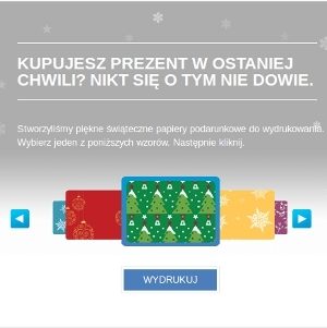 Zapakuj prezenty z Epsonem