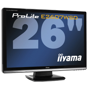 iiyama E2607WSD - 26 cali dla wymagających