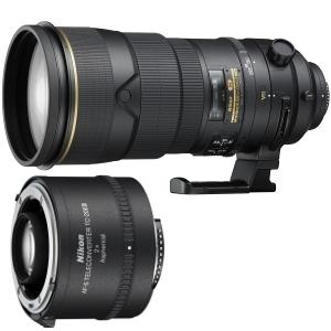 Nowości od Nikona: teleobiektyw AF-S NIKKOR 300mm f/2.8G ED VR II oraz telekonwerter AF-S TC-20E III