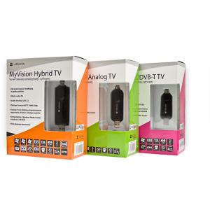 Tunery telewizyjne na USB - Ardata MyVision DVB-TV, MyVision Analog TV, MyVision HybridTV
