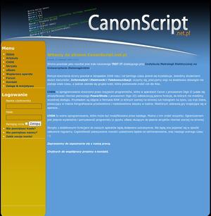 Nowy serwis studencki o skryptach dla kompaktów Canona - Instytutu Metrologii Elektrycznej Uniwersytetu Zielonogórskiego wspiera Canon Hack Development Kit