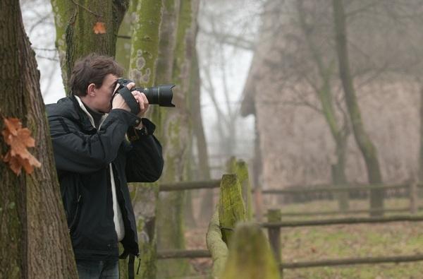wyżyna Nikon pryzmat przez Polski