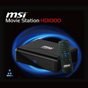 MSI Movie Station HD1000 - odtwarzacz multimedialny z Full HD