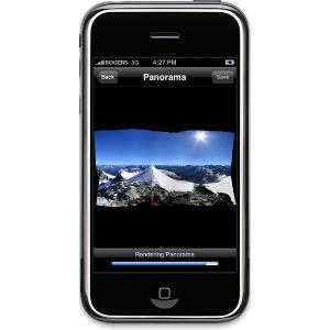 AutoStitch 2.0 - panoramy wysokiej rozdzielczości na iPhone
