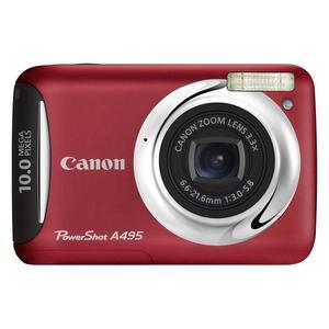 Nowe proste w obsłudze kompakty od Canona -  PowerShot A490 i A495