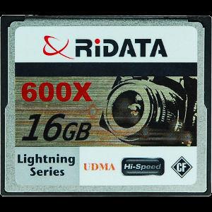 Ritek prezentuje nowe karty Compact Flash - RiDATA Lightning Series UDMA 600X