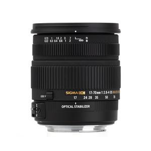 Sigma 17-70 mm f/2.8-4.0 DC Macro OS HSM najpierw z mocowaniem Nikon F