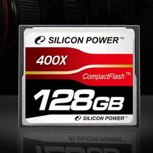Silicon Power przedstawia kartę CompactFlash 400X o pojemności 128 GB