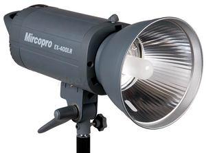 MIRCOPRO EX 300LR, EX 400LR, EX 500LR i EX 600LR - zdalnie sterowane lampy studyjne