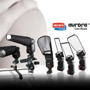 Aurora Microbox i Aurora Portaflex - softboxy i odbłyśniki do lamp aparatowych