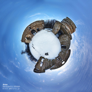 Panorama kołowa - jak w prosty sposób złożyć planetkę w Adobe Photoshop CS4
