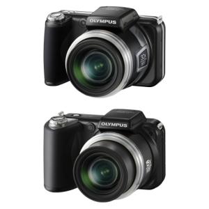 Olympus SP-800UZ i SP-600UZ - szeroki kąt i filmowanie w HD