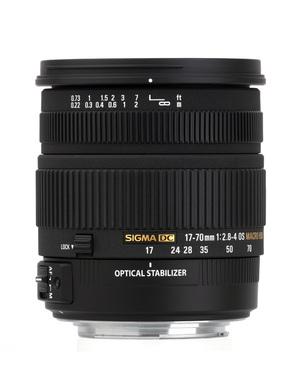 Sigma 17-70 mm f/2.8-4.0 DC Macro OS HSM z mocowaniami Sony i Pentax