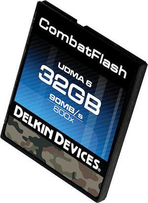 Delkin CombatFlash - najtwardsza karta pamięci CF na świecie