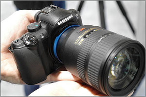 Novoflex zapowiada adaptery do obiektywów dla Samsung NX10
