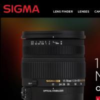 Sigma odświeżyła swoją stronę internetową