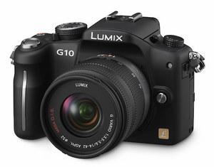 Panasonic Lumix DMC-G10 - najlżejszy aparat systemu Mikro Cztery Trzecie