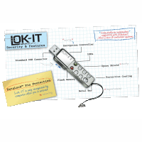 LOK-IT: bezpieczny pendrive z kodem PIN