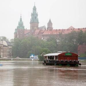 Powódź w Krakowie - fotoreportaż
